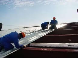 Монтаж профнастила на крышу своими руками