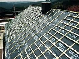 Профнастил кладем на крышу