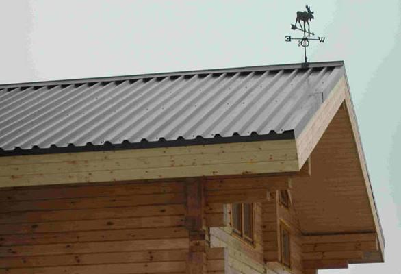 Крыша из профнастила: Устройство и технология возведения