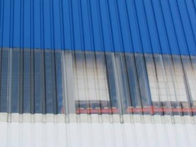 Прозрачный профлист МП 20 — одна из разновидностей материала