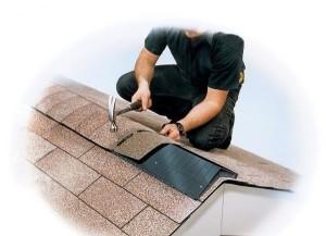 Ремонт крыши - конек