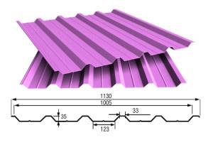 Профнастил - универсальный строительный материал