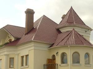 Закругленные элементы крыши