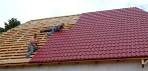 Строительство крыши своими руками