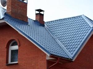 Крыша с профилированных листов