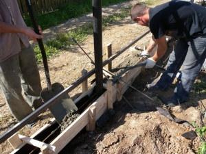 Строим бетонное основание