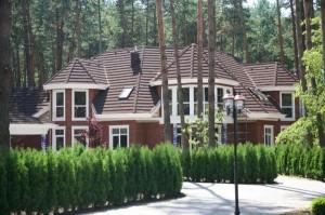 Загородный дом в лесу
