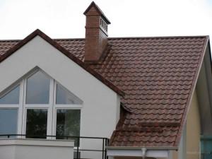 Красивый дом с крышей