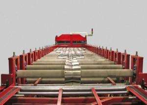 Станок по производству металлочерепицы