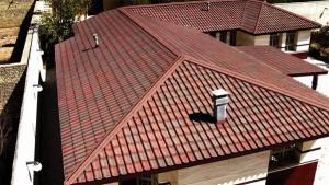 Крыша коттеджа
