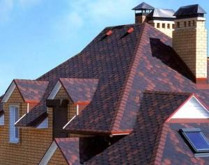 Непростой вариант красивой крыши