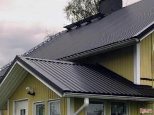 Крыша на частном доме