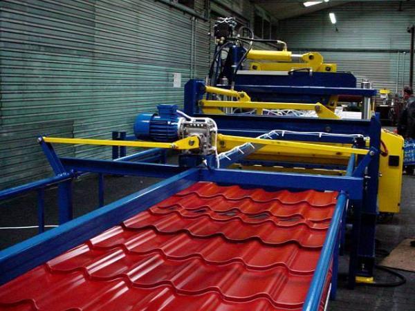 Современное производство металлочерепицы — технологическая схема