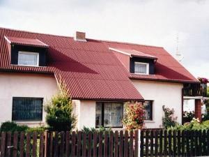 Дом с чердаком