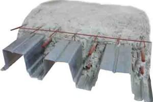 Профлист, решетка и бетон