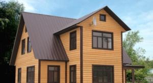 Деревянный дом - дача