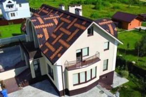 Двухцветная крыша