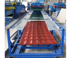 Завод на котором изготавливают металлочерепицу