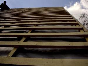 Доски на крыше