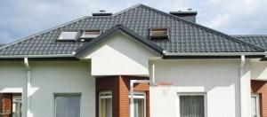 Крыша серого цвета