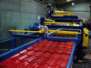 Современное производство металлочерепицы – технологическая схема